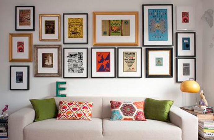 Colgar cuadros paredes pladur