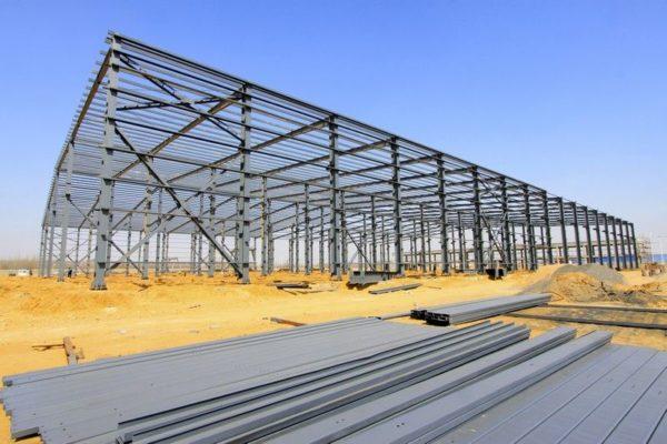 Proteger estructura metalica en nave industrial